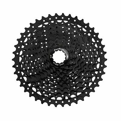 SunRace CSMS3 10-Speed 11-42T Wide-Ratio Mountain Bike Bicycle Cassette - Black
