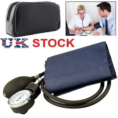 Blood Pressure Monitor Manual Stethoscope+Sphygmomanometer Nurse Equipment SHUK
