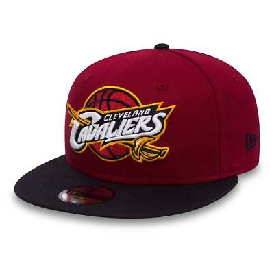 |80524919| Gorra New Era – 9Fifty Jr Nba Team Snap Cleveland Cavaliers burdeos/a