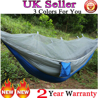 Portable Hike Jungle Camping Tent Hammock Mosquito Net Military Folding With Bag