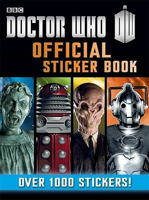 Doctor Who: Official BBC Sticker Book With Over 1000 Stickers