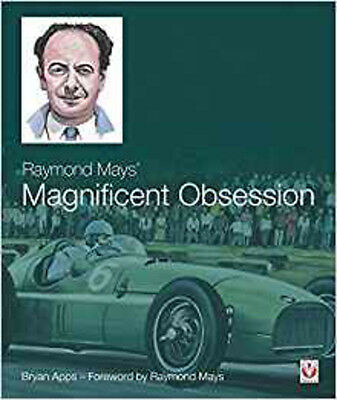 Raymond Mays Magnificent Obsession, New, Bryan Apps Book