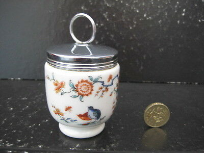 Very Rare Early Small Size Royal Worcester Egg Coddler Old Bow 1930S Mark