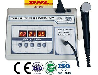 New Original Ultrasound Ultrasonic therapy machine Pain relief  Ultrasound 1mhz
