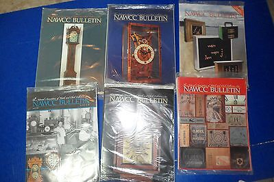 NAWCC BULLETIN National Association of Watch Collector all 6 of 2009 NEW IN bags