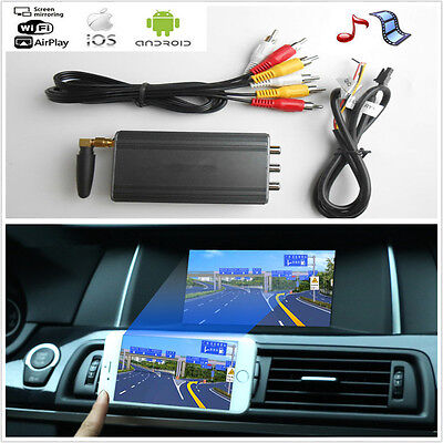 2017 Car Miracast Airplay Android IOS WiFi Mirror Link Adapter Smartphone Screen