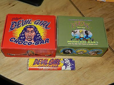 RARE 90's R Crumb and Freak Brothers boxes W/ wrapper !