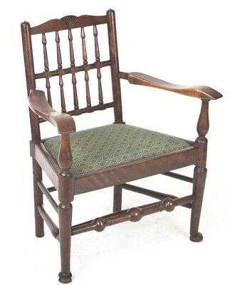 Antique Arts & Crafts mahogany Low Armchair - FREE Shipping [PL2687R]