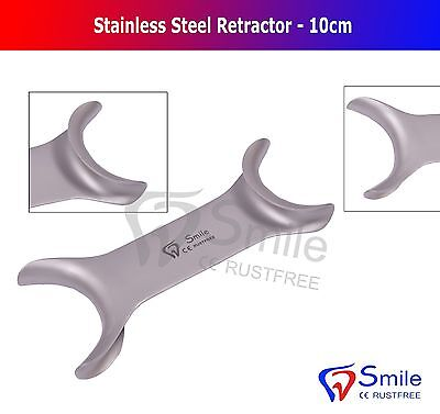 Dental Steel Cheek Retractor Lip Tongue Mouth Opener Retractor 10CM New Smile