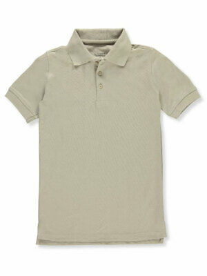 Classic School Uniform Big Boys' S/S Pique Polo Shirt (Sizes 8 - 20)
