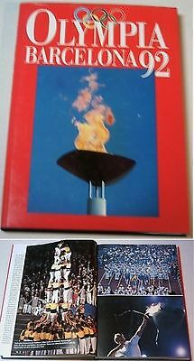 Orig.Book / Report     XXV.Olympic Summer Games BARCELONA 1992  !!     VERY RARE