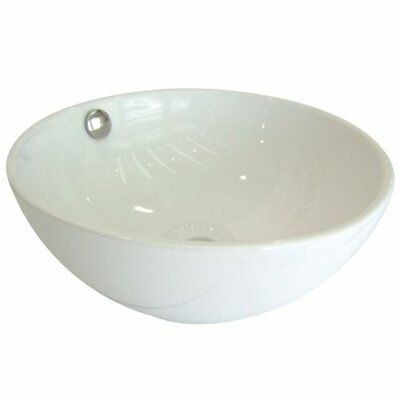 KNGB-EV7048-Kingston Brass Le Country China Vessel Bathroom Sink with Overflow