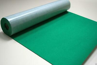 Self Adhesive Felt Baize Fabric Mini Rolls - VIRIDIAN