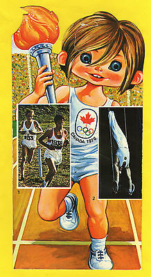 Orig.postcard    Olympic Games MONTREAL 1976  -  Special Edt.  !!  VERY RARE