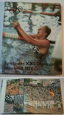 Orig.Book / Report    XXI.Olympic Games MONTREAL (Canada) 1976 !!      VERY RARE
