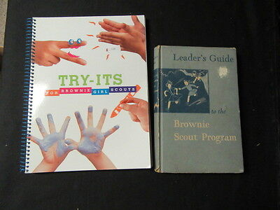 Brownie Scout Program Handbooks & Songbook, 1950 - 2000     GS14
