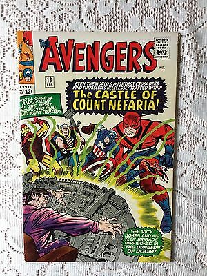 Marvel Comics Avengers # 13 1965 VF+