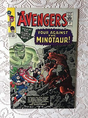 Marvel Comics Avengers # 17 1965 VF/NM