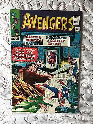 Marvel Comics Avengers # 18 1965 VF