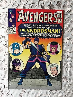 Marvel Comics Avengers # 19 1965 VF+