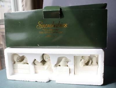 Department 56 SNOWBABIES 56-68943 ALL ABOARD THE STAR EXPRESS-Train Figurine