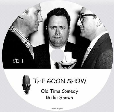 THE GOON SHOW - 179 Old Time Comedy Radio Shows on 2 MP3 CD's