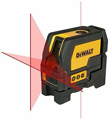 Dewalt DW0822 Self Leveling Cross Line and Plumb Spots Laser Level DW0822-XJ new