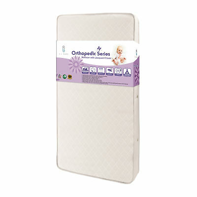 LABY-MT5096M-LA Baby - Madison Crib Mattress with Jacquard Fabric Cover