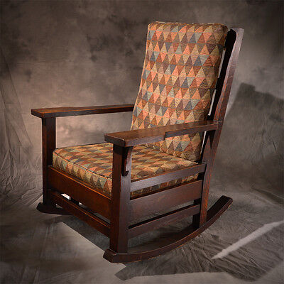 Antique Mission Rocking Chair