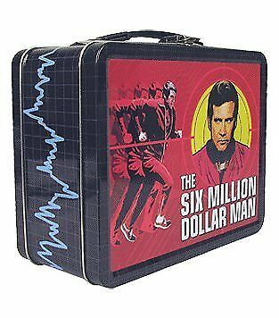 The Six Million Dollar Man Tin Tote
