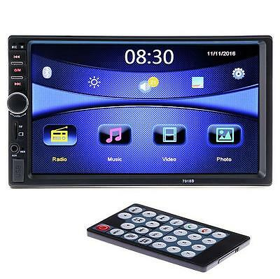 7-inch HD Car Video Audio Bluetooth Touchscreen Car Stereo Radio MP5 With Camera