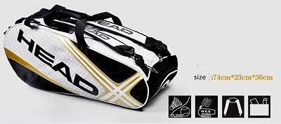 New 2017 HEAD Tennis Bag for Rackets, Shoes, and Clothes