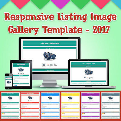 Ebay Auction Listing Responsive Template Image Gallery 2017 - No Active Contents