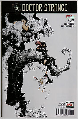 Doctor Strange #22 Vol 4 Marvel Comics Dennis Hopeless Nico Henrichon