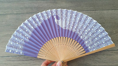 NEW NEVER USED Japanese Hand Fans Souvenir Bought from Kyoto RRP$70