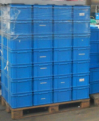 Rako Crate 10 pcs Stack Boxes Georg UTZ GROUP / 40x30x22cm/Blue