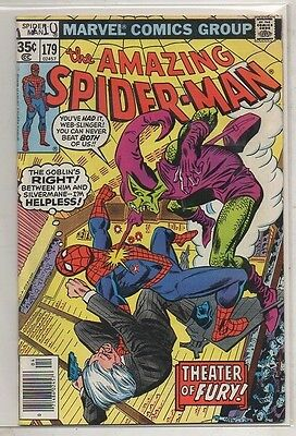 THE AMAZING SPIDER- MAN   No  179  by MARVEL  V  FINE