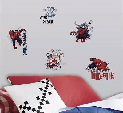 Roommates Ultimate Spider-man 23 Peel And Stick Wall Decals