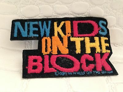 Vintage 1980s 90s New Kids On The Block Iron on Patch Band NKOTB
