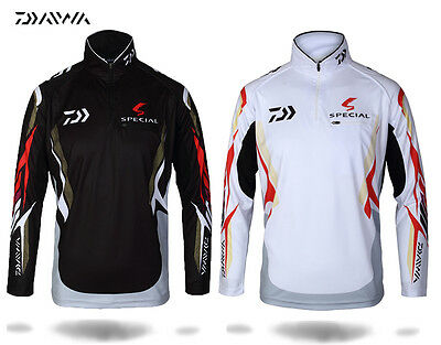 DAIWA Fishing shirt / jersey fishing Clothes Brand New with tags 2 Colors M-5XL