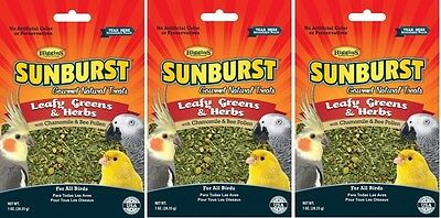 Leafy Greens & Herbs with Chamomile For All Birds treat 1oz (SET 3)