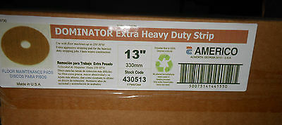 "Americo 13"" Dominator Heavy Duty Strip Pad 430513 5/CS"