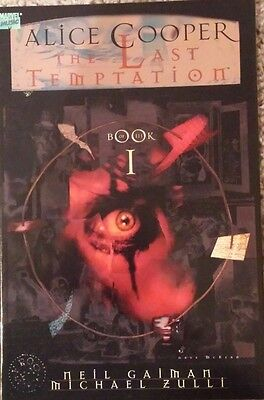 Alice Cooper The Last Temptation Book 1 Gaiman & Zulli 1994 Marvel