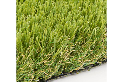Artificial Grass Astro Turf Fake Lawn Outdoor Carpet  Tri Colour - CLUMBER 35MM