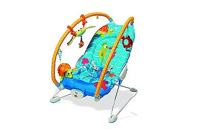 Tiny Love Gymini Bouncer Under the Sea Activity Seat - New! Free Shipping!