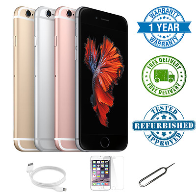 Apple iPhone 6s, 16GB, Grade A - Gold/Rose Gold/Silver/Space Grey