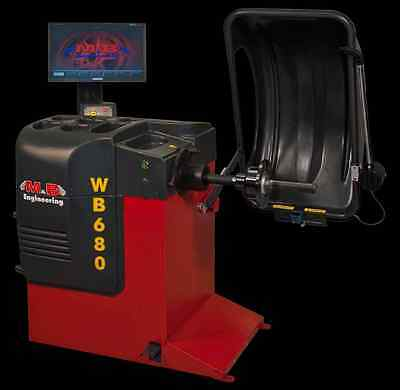 Made in Italy WB680 Laser LED Top Wheel Balancer Full Automatic (made in Italy)