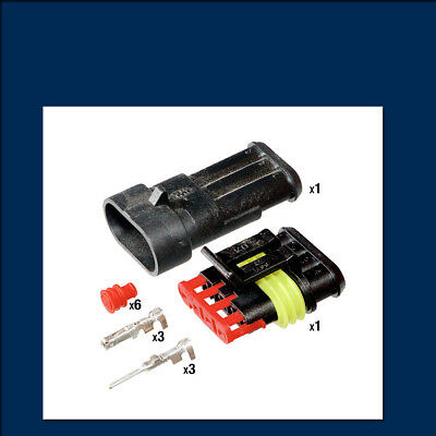AMP Superseal Connector Kit - 3 Way