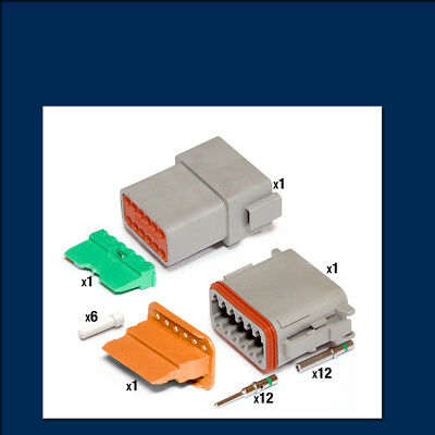 Genuine Deutsch DT 12 way Connector Kit