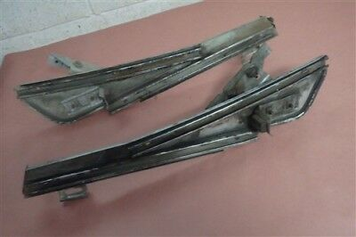 1967 Mercury Monterey RH and LH Side Quarter Window Tracks 2 door Hardtop